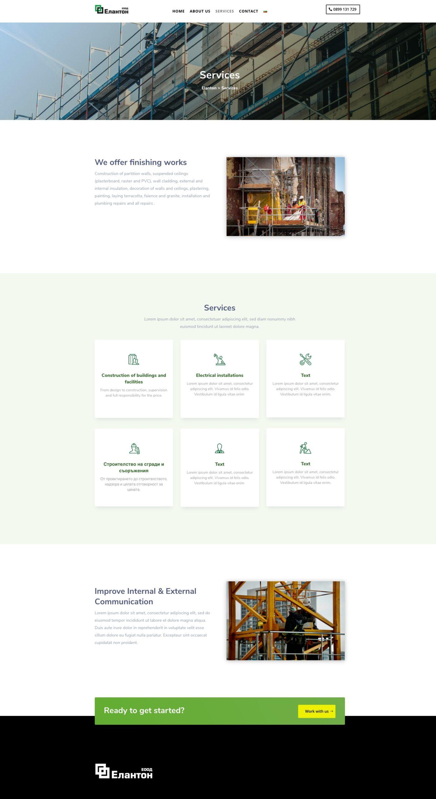 Referenzen Webseite Webdesign